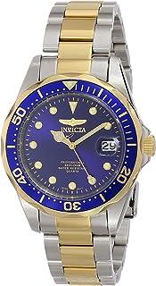 ساعة انفيكتا للرجال 17050 برو دايفر انالوج شاشة كوارتز ياباني بلونين