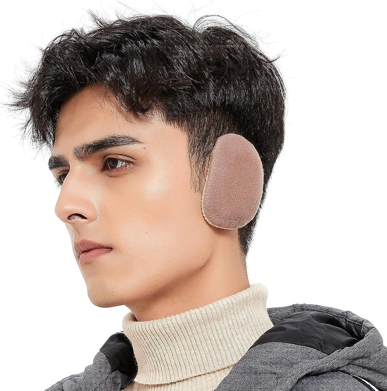Bandless Ear Warmers Earmuffs Fleece Earmuffs Thick Winter Ear Cover for Men Women