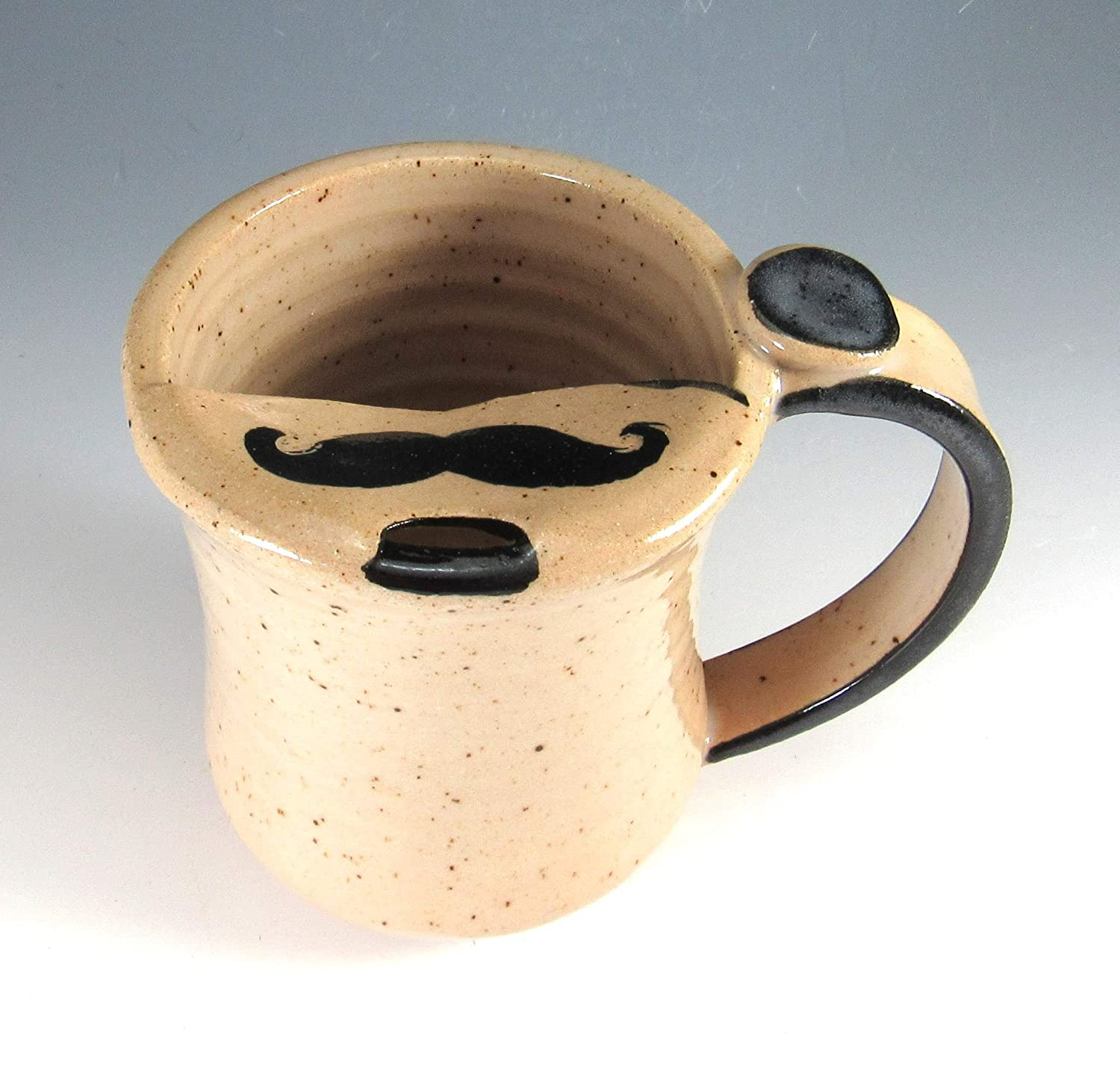 8 Ounce Mustache Cup Mug Moustache New Orleans Mall Max 72% OFF