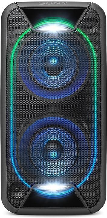 Cassa portatile wireless bluetooth, 2 tweeter, 2 woofer, nfc, extra bass, usb, microfono sony gtk-xb90 GTKXB90B.CEL