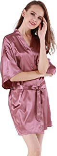 Best orange kimono robe Reviews