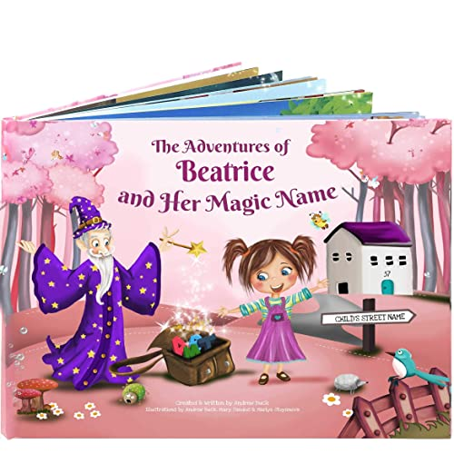 Personalized Story Picture Book for Children - A Unique Story Based on the Letters of a Child's Name, Birthday, Special Occasion Gift
