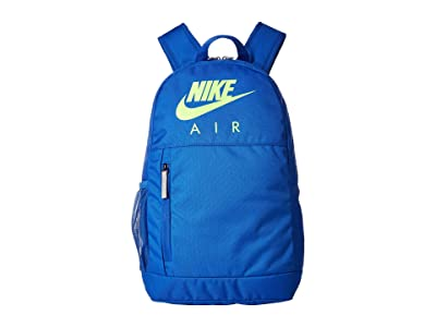 Nike Kids Elemental Graphic Backpack (Little Kids/Big Kids) (Game Royal/Game Royal/Electric Green) Backpack Bags