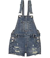 Fling Cleaning/Denim Overalls in Blue (Big Kids)