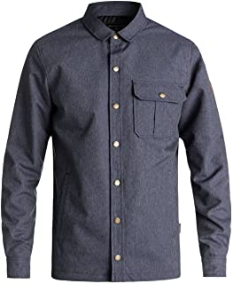 Quiksilver Men's WILDCARD DENIM 10K JACKET Insulated Jacket (pack of 1)