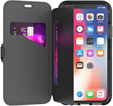 tech21 Evo Wallet Phone Case for iPhone X/Xs - Black (T21-5860)