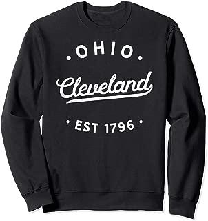 Classic Vintage Retro Cleveland Ohio Pride Sweatshirt
