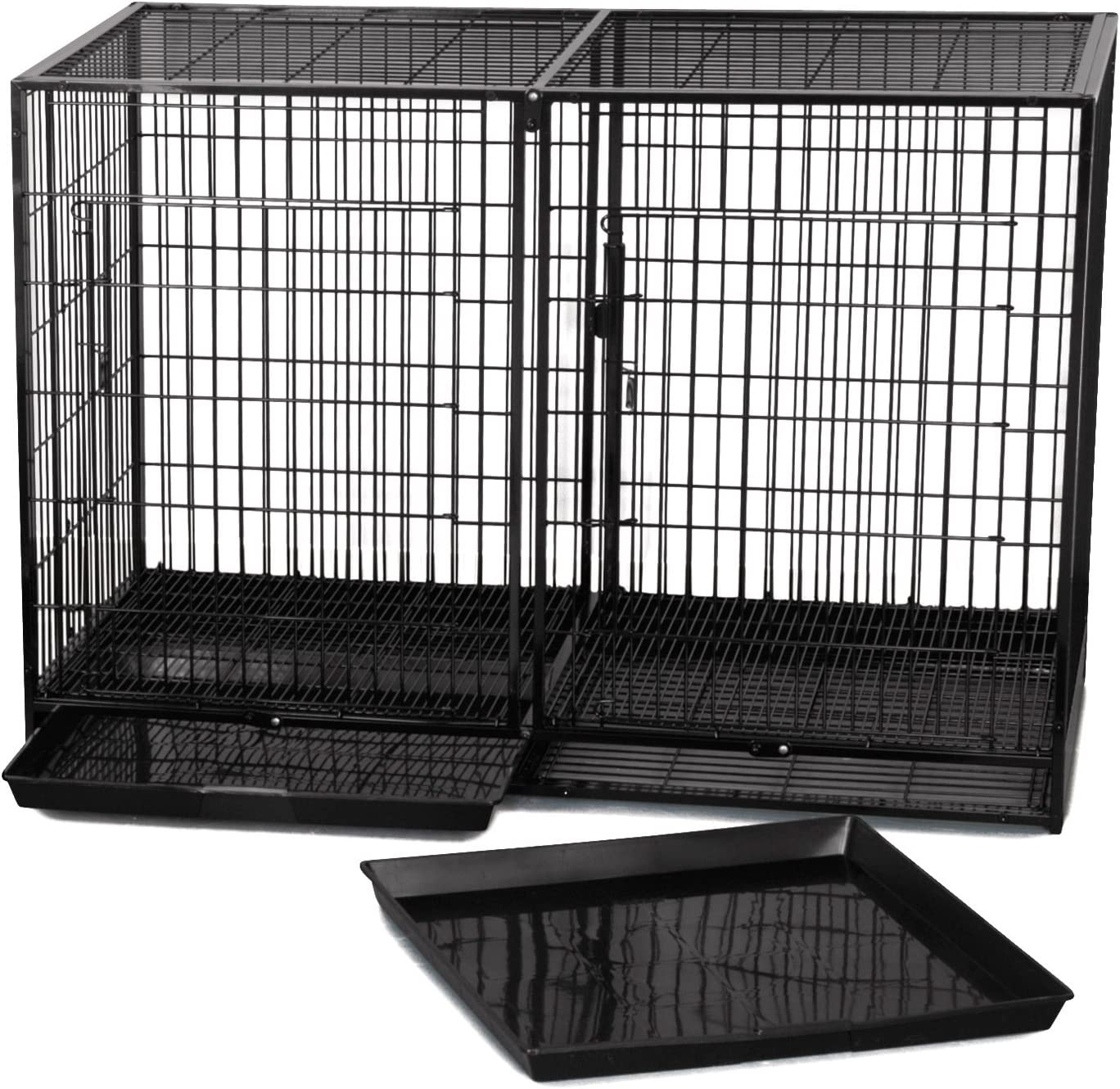 Pro Select Steel San Francisco Mall Modular Cage Ranking TOP4 Black X-Tall