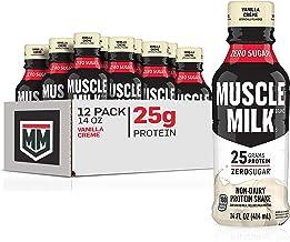 Sponsored Ad - Muscle Milk Genuine Protein Shake, Vanilla Crème, 25g Protein, 14 Fl Oz, 12 Pack