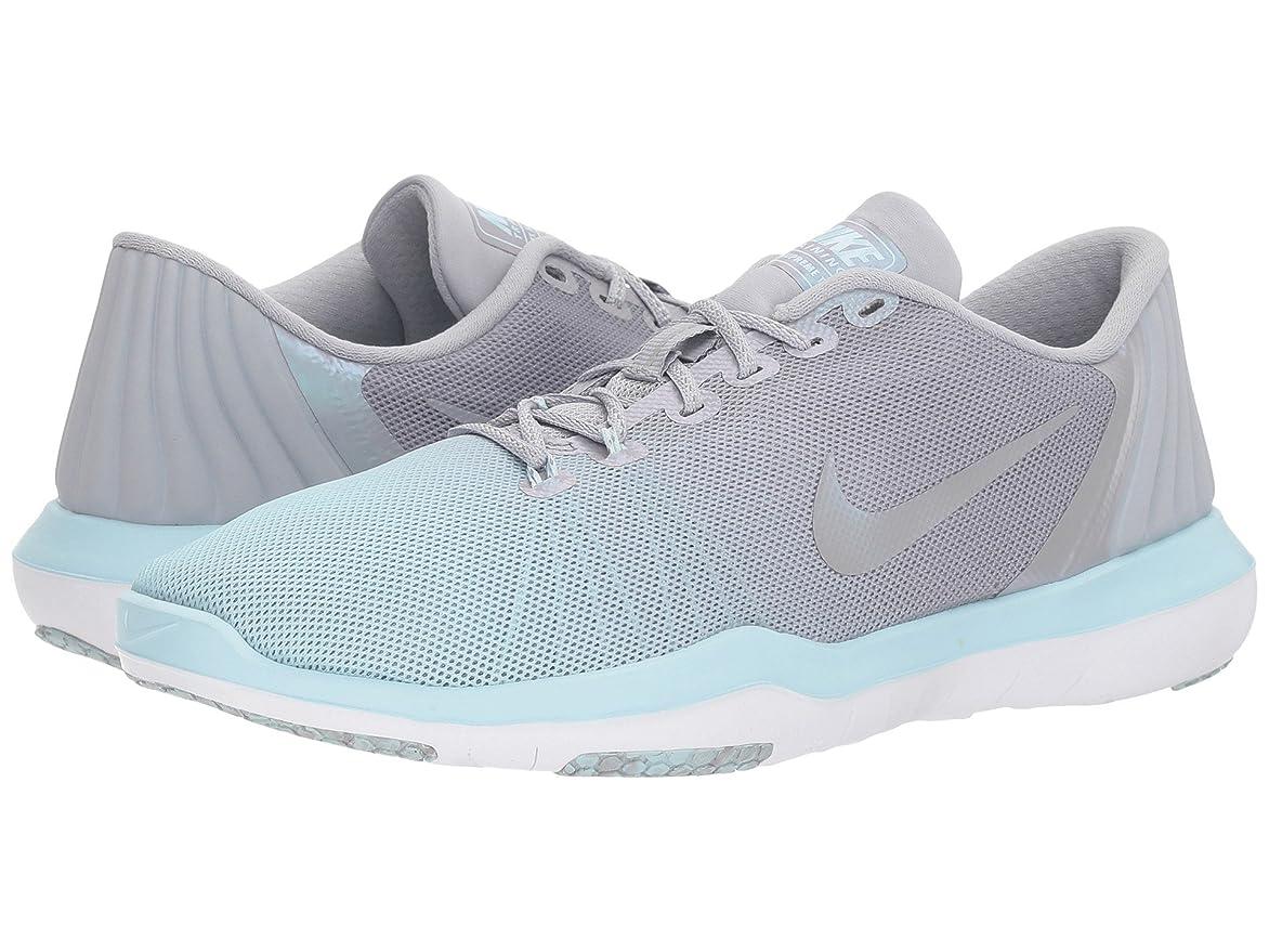 ノート好き面積(ナイキ) NIKE レディースランニングシューズ?スニーカー?靴 Flex Supreme TR 5 HP Wolf Grey/Glacier Blue/White 8.5 (25.5cm) B - Medium