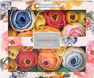 Vintage Patterns and Petals Soap Flowers, 178 g