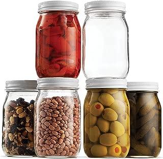 pickling jars and lids