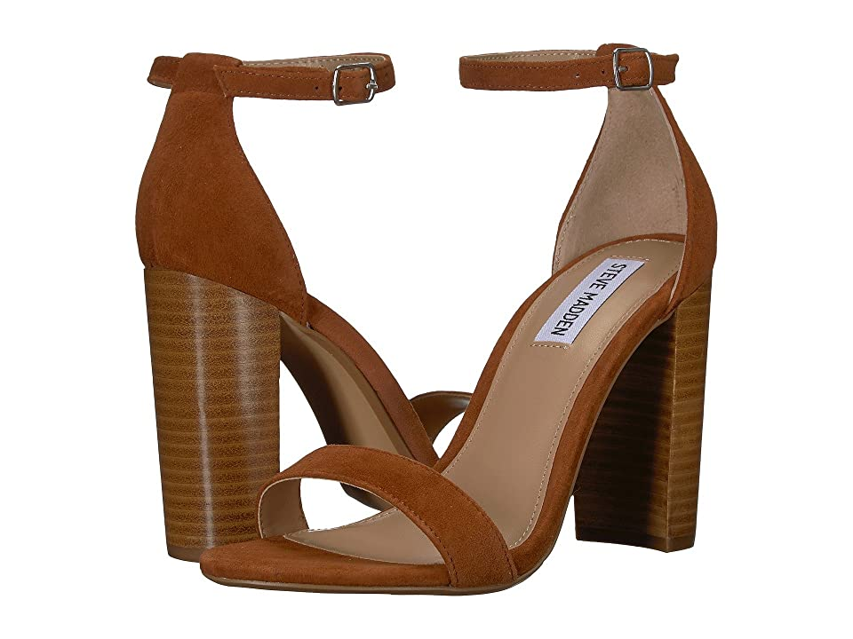 Steve Madden Carrson Heeled Sandal (Chestnut Multi) High Heels