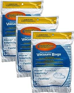 Best simplicity type a vacuum bags Reviews