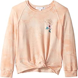 Namaste Flower Novelty Sweatshirt (Toddler/Little Kids/Big Kids)