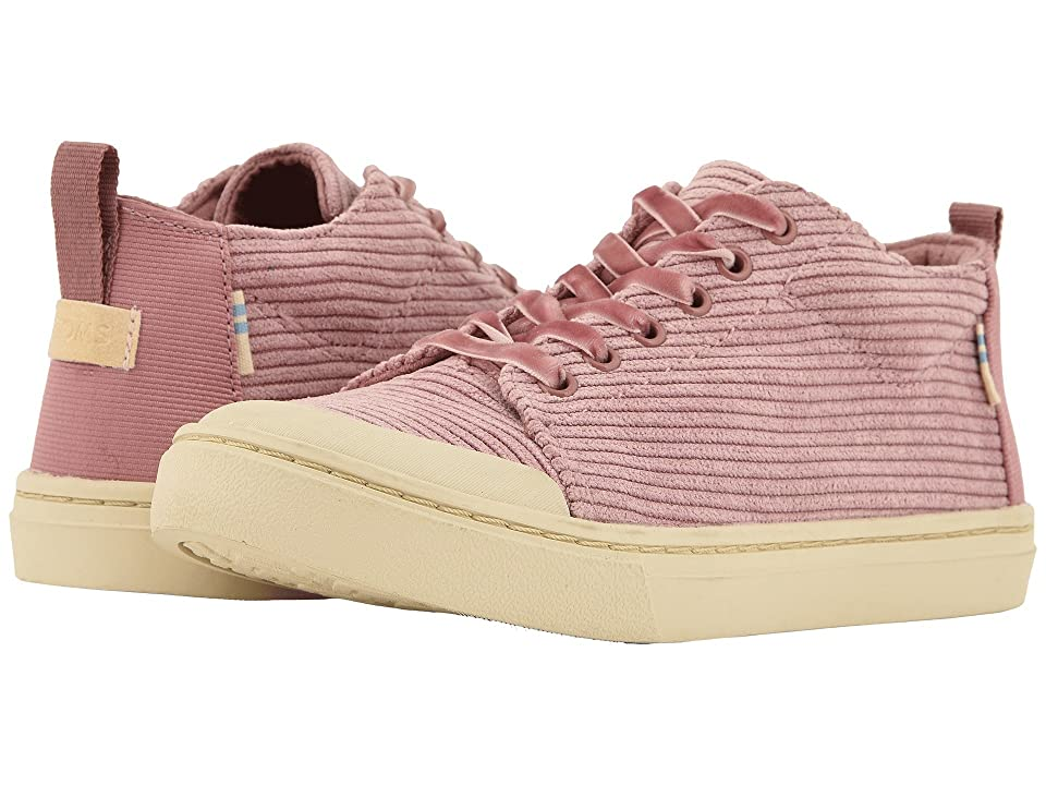 TOMS Kids Lenny Mid (Little Kid/Big Kid) (Light Mauve Corduroy) Girl