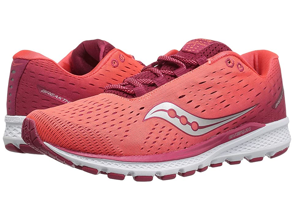 686fad26e774 Saucony Breakthru 3 (Berry Coral) Women s Running Shoes