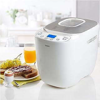 DOMO - Bread machine White + silver 700-1000g - B3963