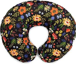 Boppy Original Nursing Pillow & Positioner, Black Floral, Cotton Blend Fabric with Allover Fashion, 00056031240490