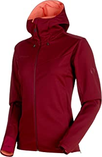 Ultimate V So Hooded Jacket Women; Merlot-Barberry...