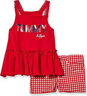 Tommy Hilfiger Girls' 2 Pieces Shorts Set
