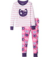 Hatley Kids - Feline Sleepy PJ Set (Toddler/Little Kids/Big Kids)