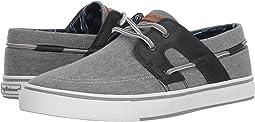Grey/Black Linen