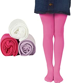 Mallary Girls Microfiber Tights 3-Pack Multiple Colors