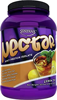 Syntrax Nectar, Lemon Tea, 2 Lb