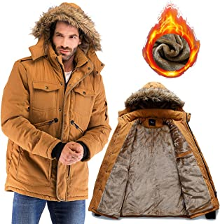 mens plaid winter jackets