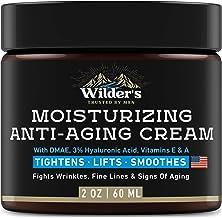 Men's Face Cream Moisturizer - Anti Aging Facial Skin Care - Made in USA - Collagen, Retinol, Hyaluronic Acid - Day & Nigh...