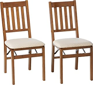 Best Stakmore Arts and Craft Folding Chair Finish, Set of 2, Fruitwood Review