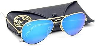 RB3025 Unisex Aviator Sunglasses Mirrored