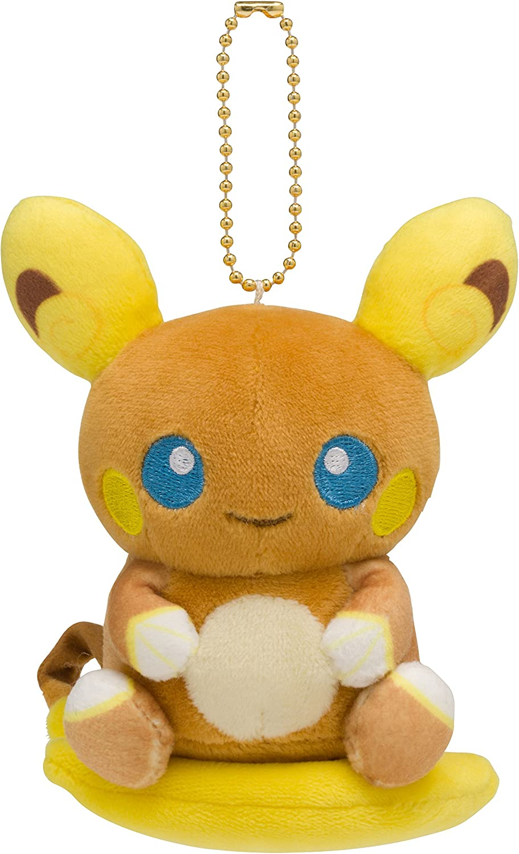 Pokemon Center Original Mocchiri Raichu Alola ※アウトレット品 Mascot 在庫一掃売り切りセール