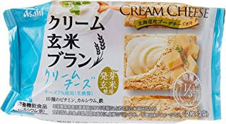 Asahi Cream Cheese Rice Bran Biscuits, 72 g