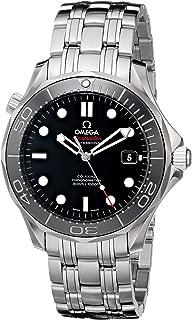 Men's 212.30.41.20.01.003 Seamaster Black Dial Watch