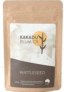 MaxRelief Kakadu Plum Wattleseed - Australian Aboriginal Superfood - Contains Magnesium, Potassium, Calcium, Iron, Selenium and Zinc. Use as a Coffee Substitute 1.8 oz