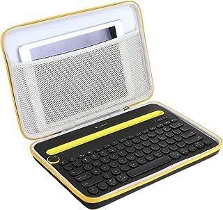 Khanka Hard Travel Case voor Logitech K480 Multi Device Bluetooth Keyboard.