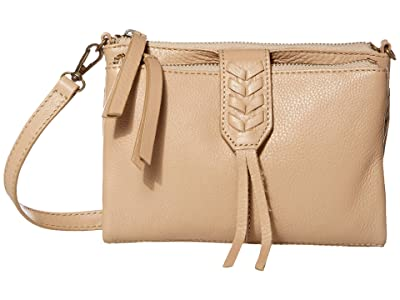 Lucky Brand Amber Convertible Wallet (Travertine) Handbags