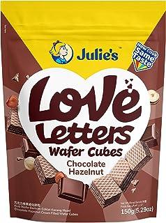 Julie's Wafers Chocolate Hazelnut Wafer, 150g