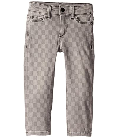 DL1961 Kids Chloe Skinny in Checkmate (Toddler/Little Kids) (Checkmate) Girl