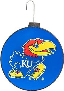 Collegiate Pulse University of Kansas Jayhawks NCAA DISC Ornament