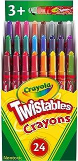 Crayola Mini Twistables Crayons, Multi-Colour, Cy52-9724