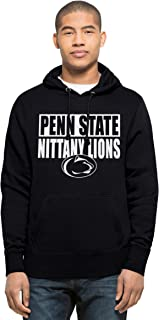 NCAA Penn State Nittany Lions Men's Headline Pullover Hoodie, Large, Fall Navy