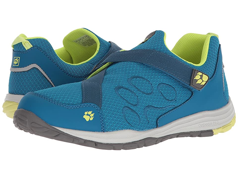 Jack Wolfskin Kids Monterey Ride VC Low (Toddler/Little Kid/Big Kid) (Turquoise) Girls Shoes