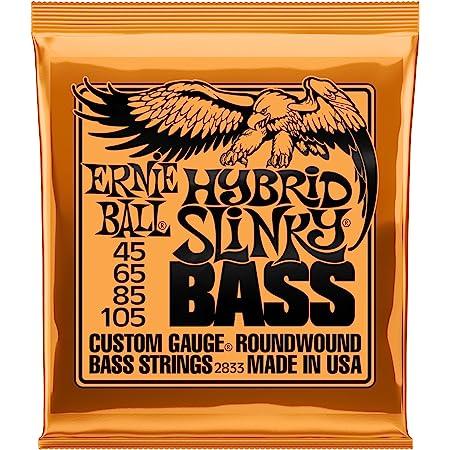 Ernie Ball Slinky Jeu de cordes pour guitare basse Hybrid Slinky 045 - 105