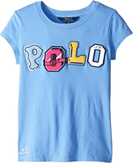 73edc7742 Polo Ralph Lauren Kids Cricket Bear Cotton T-Shirt (Little Kids/Big ...