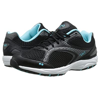 Ryka Dash 2 (Black/Metallic Iron Grey/Winter Blue/White) Women