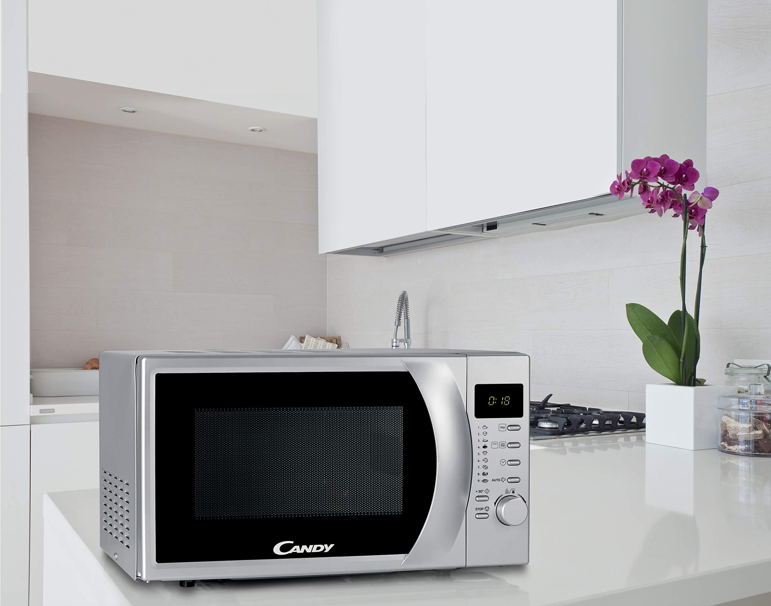 Candy CMG 2071 DS Microondas con grill, Capacidad 20L, Display ...