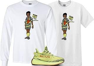 We Will Fit Jerome Shirt to Match The Adidas Yeezy Boost 350 V2 SEMI Frozen Yellow YEBRA